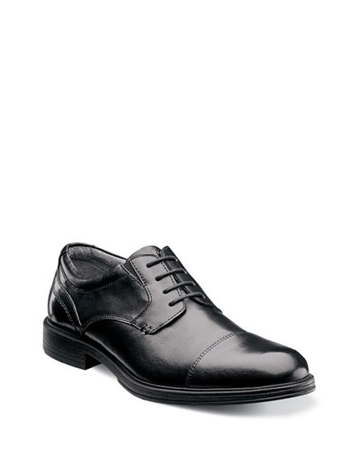 Florsheim | Black 'mogul' Cap Toe Derby for Men | Lyst
