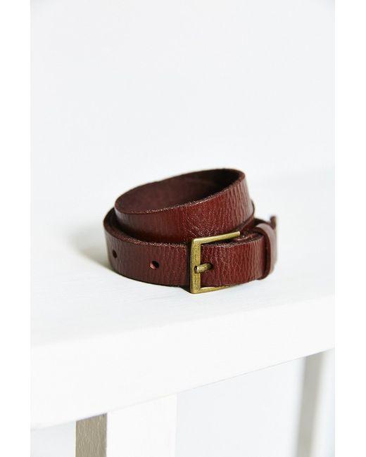 BDG | Metallic Thin Square Buckle Belt | Lyst
