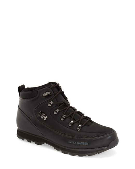 Helly Hansen | Black 'the Forester' Water Repellent Leather Boot for Men | Lyst