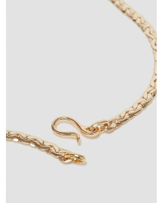 Helena Rohner | Metallic Large Gold Plated Knot Pendant Gold Plated | Lyst