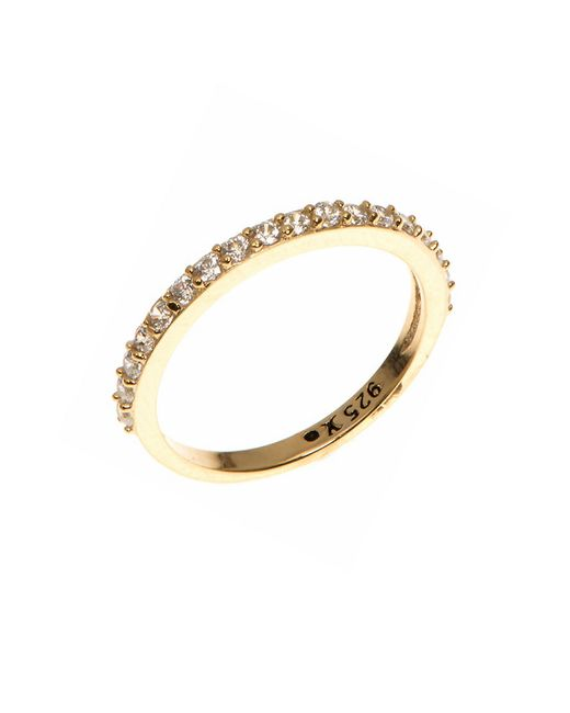 Judith Jack | Metallic Crystal And Goldplated Sterling Silver Ring | Lyst