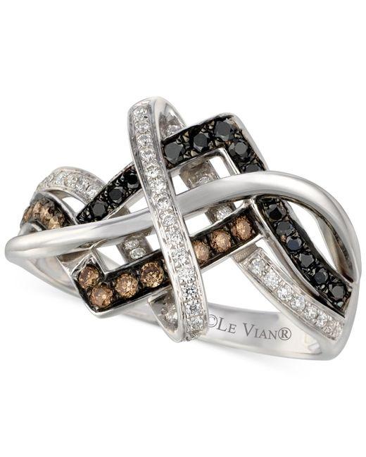 Le Vian | Exotics® Diamond Overlap Ring (1/2 Ct. T.w.) In 14k White Gold | Lyst