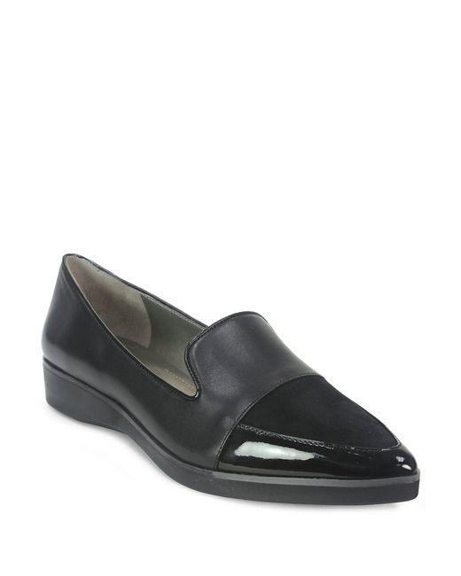 Tahari | Black Flight Loafer | Lyst
