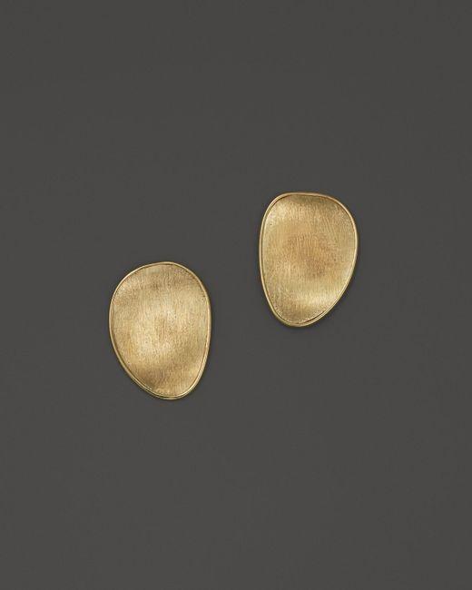 Marco Bicego   Metallic 18k Yellow Gold Lunaria Stud Earrings   Lyst