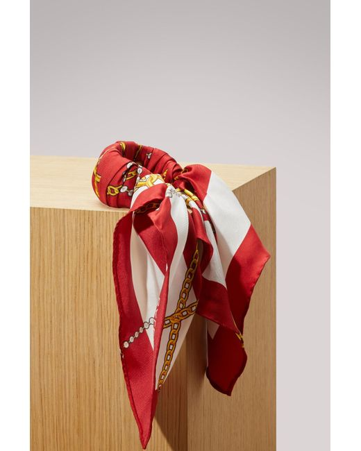 Balenciaga - Red Bijouxprint Bracelet - Lyst