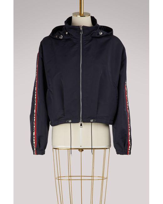 Moncler - Blue Zirconite Hooded Jacket - Lyst