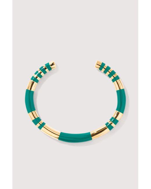 Aurelie Bidermann - Multicolor Positano Emerald Bracelet - Lyst
