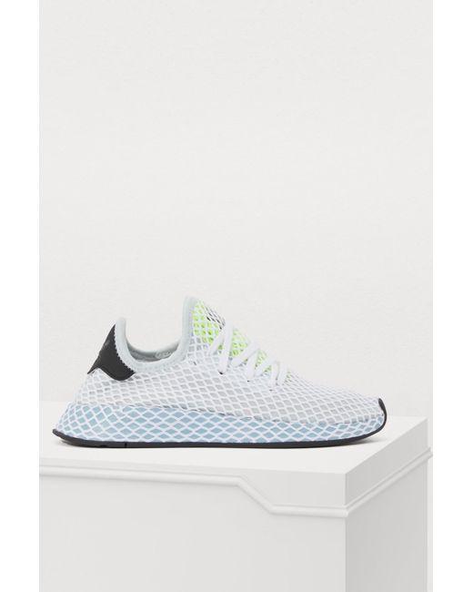 73d05bcda17d5 Adidas - White Deerupt Runner W Sneakers - Lyst ...