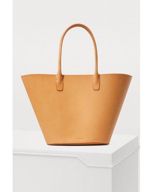 Mansur Gavriel - Multicolor Triangle Vegetable-tanned Tote Bag - Lyst
