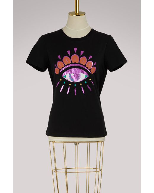 KENZO - Black Christmas Eye T-shirt - Lyst