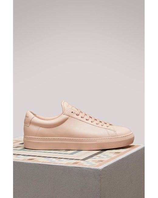 Zespà Nappa sneakers with metallic detail un4O9I4hav