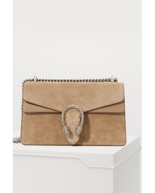 5ae09ef58ba4 Gucci - Multicolor Dionysus Small Shoulder Bag - Lyst ...