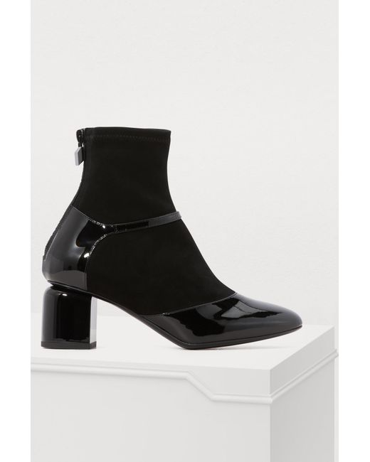 Pierre Hardy - Black Laura Heeled Ankle Boots - Lyst