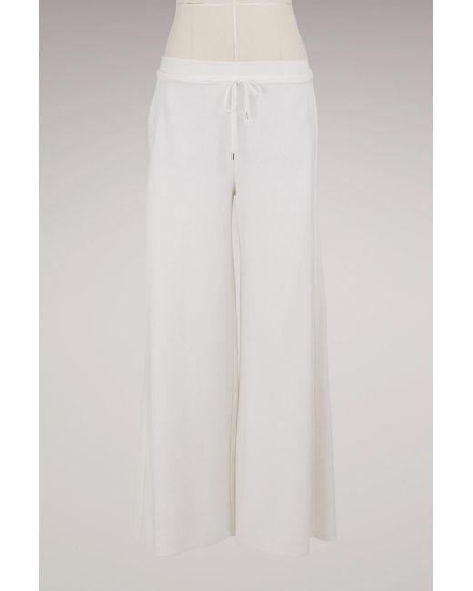 Loro Piana   White Bering Large Pants   Lyst