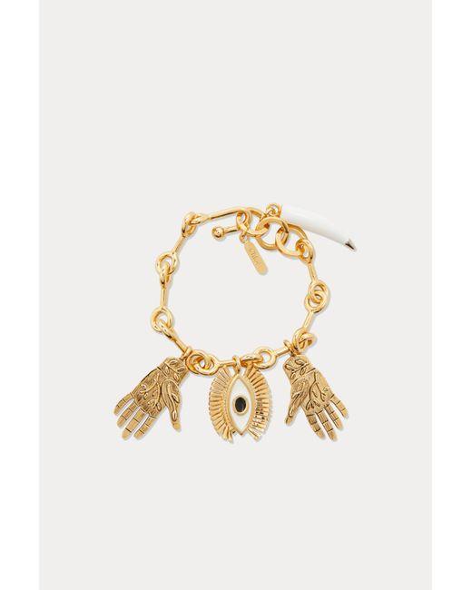 Chloé - Metallic Eye Bracelet - Lyst