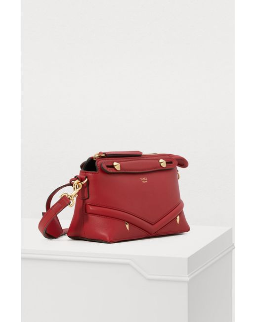 d4364c48ae5a ... Fendi - Red By The Way Crossbody Bag - Lyst ...