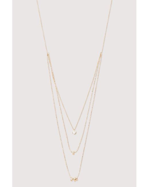 Ginette NY - Multicolor Three-strand Necklace - Lyst