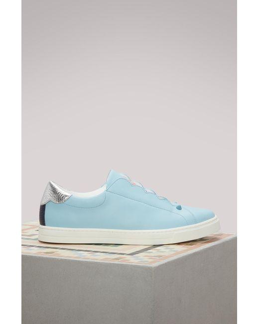 Fendi | Blue Sneakers Biscuit | Lyst