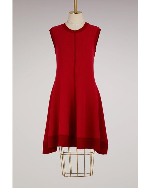 Maison Rabih Kayrouz | Red Wool Short Dress | Lyst