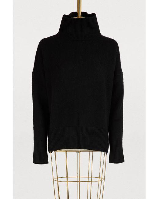 Lyst Turtleneck Jafet Black Bruno Sweater Vanessa SZwfRqw6