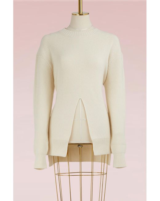 Proenza Schouler - Multicolor Wool And Cashmere Sweater - Lyst