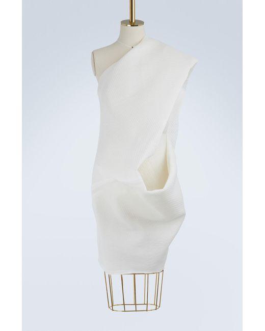 Rick Owens - White Silk Tunic - Lyst