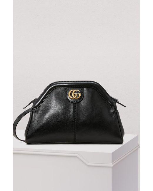 c239f5fc5f59 Gucci - Black Linea S Sm Crossbody Bag - Lyst ...