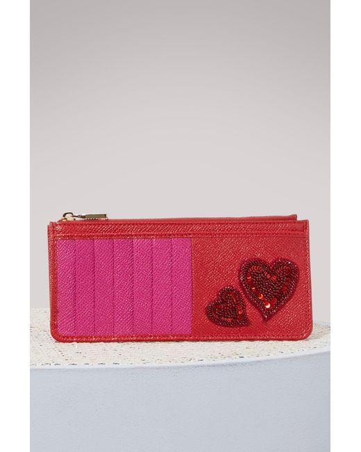 Large card holder Dolce & Gabbana BpCN983