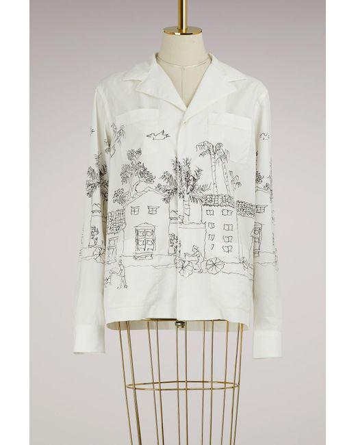 Marni | White Printed Jacket | Lyst