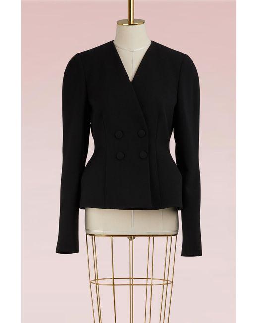 Stella McCartney - Black Peyton Wool Jacket - Lyst