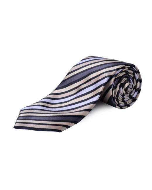Double Two | Natural Extra Long Stripe Tie for Men | Lyst