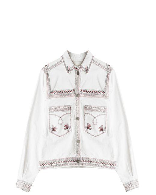 Étoile Isabel Marant | White Denim Outerwear | Lyst