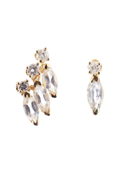 Loren Stewart | Metallic Diamond, Sapphire & Yellow-gold Earrings | Lyst