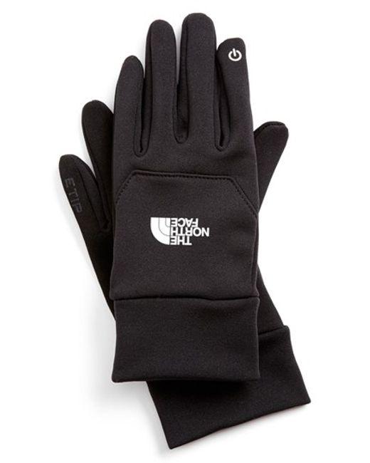 The North Face   Black 'etip' Gloves for Men   Lyst