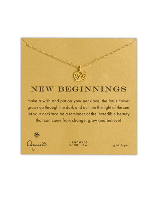 Dogeared | Metallic 'reminder - New Beginnings' Pendant Necklace | Lyst