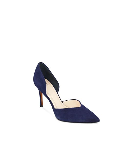 Marc Fisher | Blue 's Tammy Suede D'orsay Pointed Pumps | Lyst