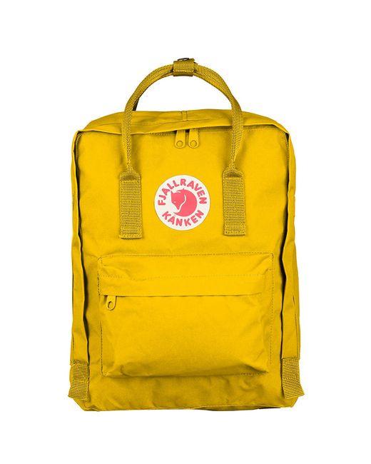Fjallraven | Yellow Kanken Classic Backpack | Lyst