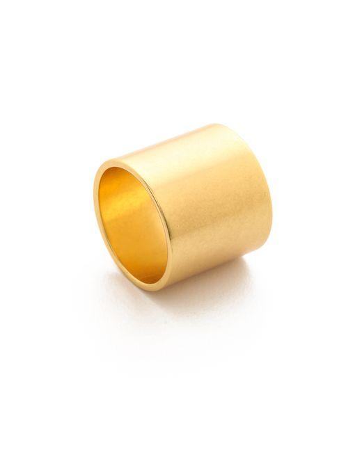 Madewell   Metallic Wash Band Ring   Lyst