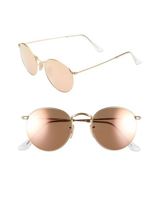 Ray-Ban | Brown 'icon' 50mm Sunglasses | Lyst