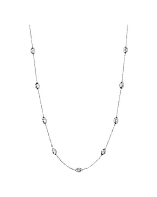 Links of London | Metallic Beaded Chain Necklace 80cm | Lyst