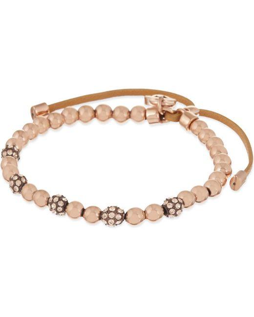 Michael Kors   Pink Bead Cubix Friendship Bracelet   Lyst