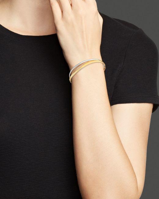 Marco Bicego | Metallic White & Rose Gold Goa Bracelet | Lyst