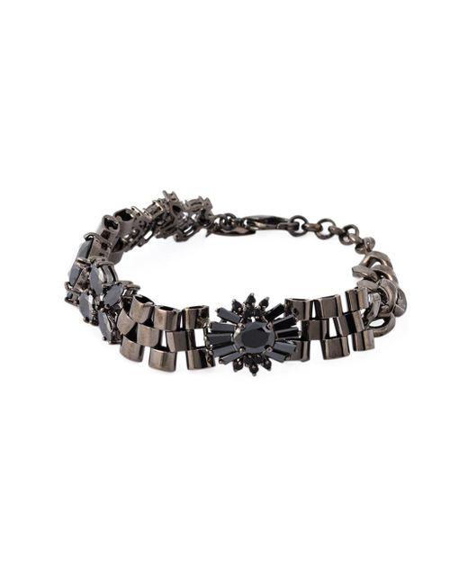 Iosselliani | 'black On Black Memento' Bracelet | Lyst