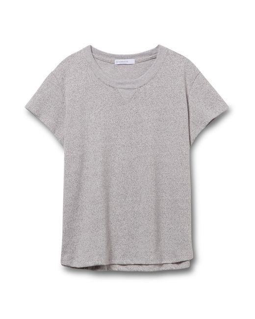 Alternative Apparel | Gray Cross Country Heavyweight Mock Twist T-shirt | Lyst