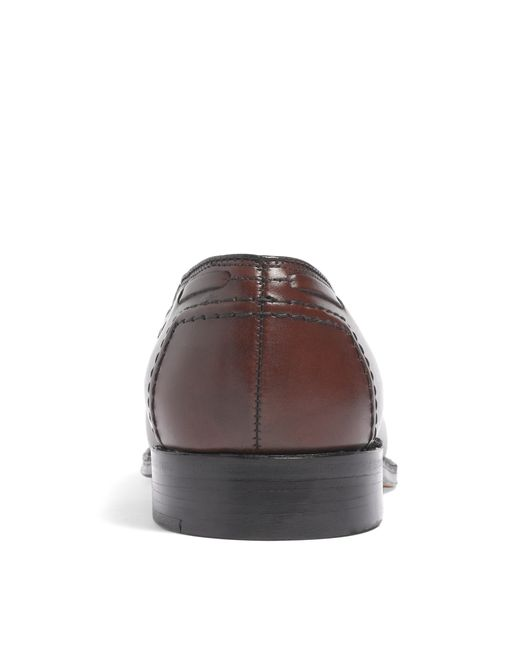 Brooks Brothers | Brown Tassel Loafers for Men | Lyst