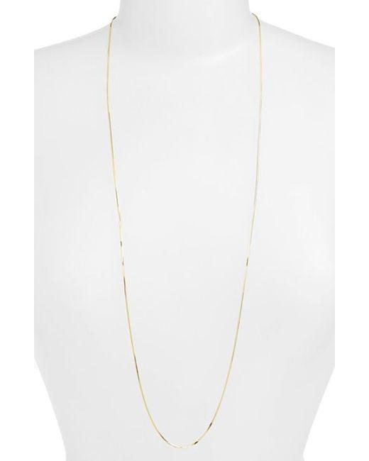 Argento Vivo | Metallic Chain Necklace | Lyst