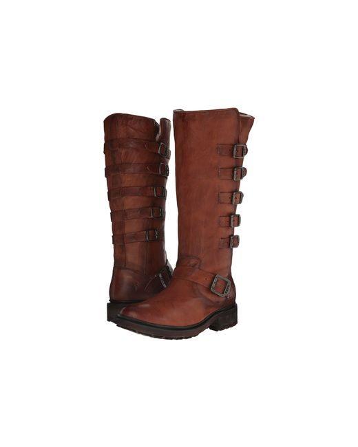 Frye | Brown Valerie Belted Tall | Lyst