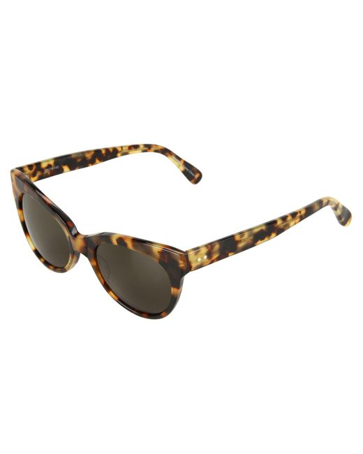 Kamalikulture | Brown Square Cat Eye Sunglasses | Lyst