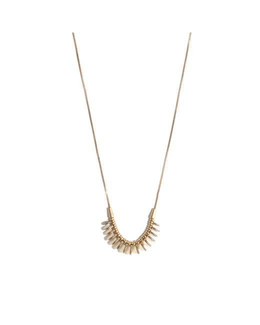 Madewell | Metallic Mini Coinmix Necklace | Lyst