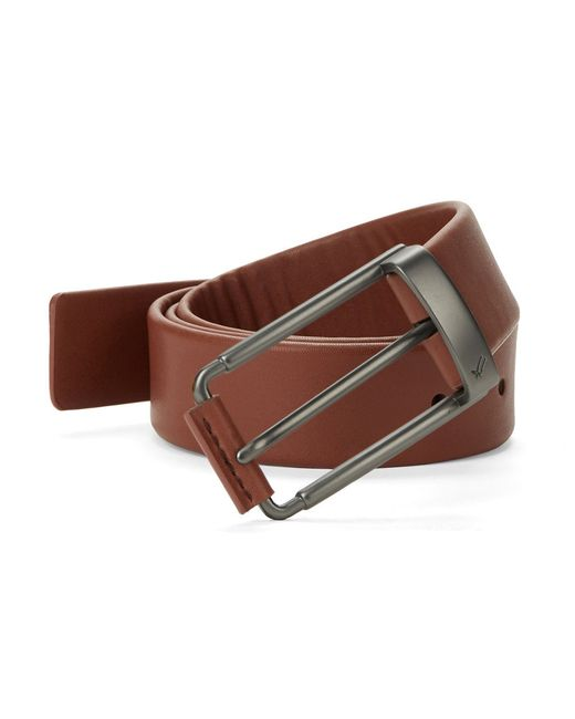 William Rast | Brown Faux Leather Belt for Men | Lyst